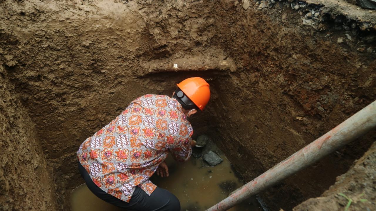Peletakan Batu Pertama Oleh Ketua PDM Banyumas, Pembangunan Gedung Dakwah Muhammadiyah Grumbul Karangtawang Dimulai