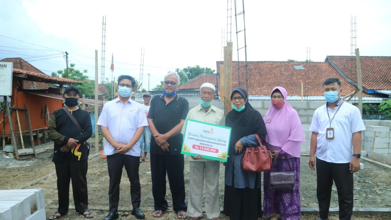 Bantuan 15 Juta untuk Pembangunan Panti Asuhan Muhammadiyah Sokaraja